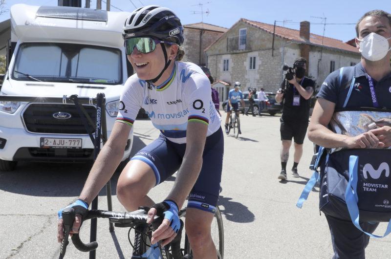 News' image'Van Vleuten (10ª), con las mejores en el primer envite en Burgos'