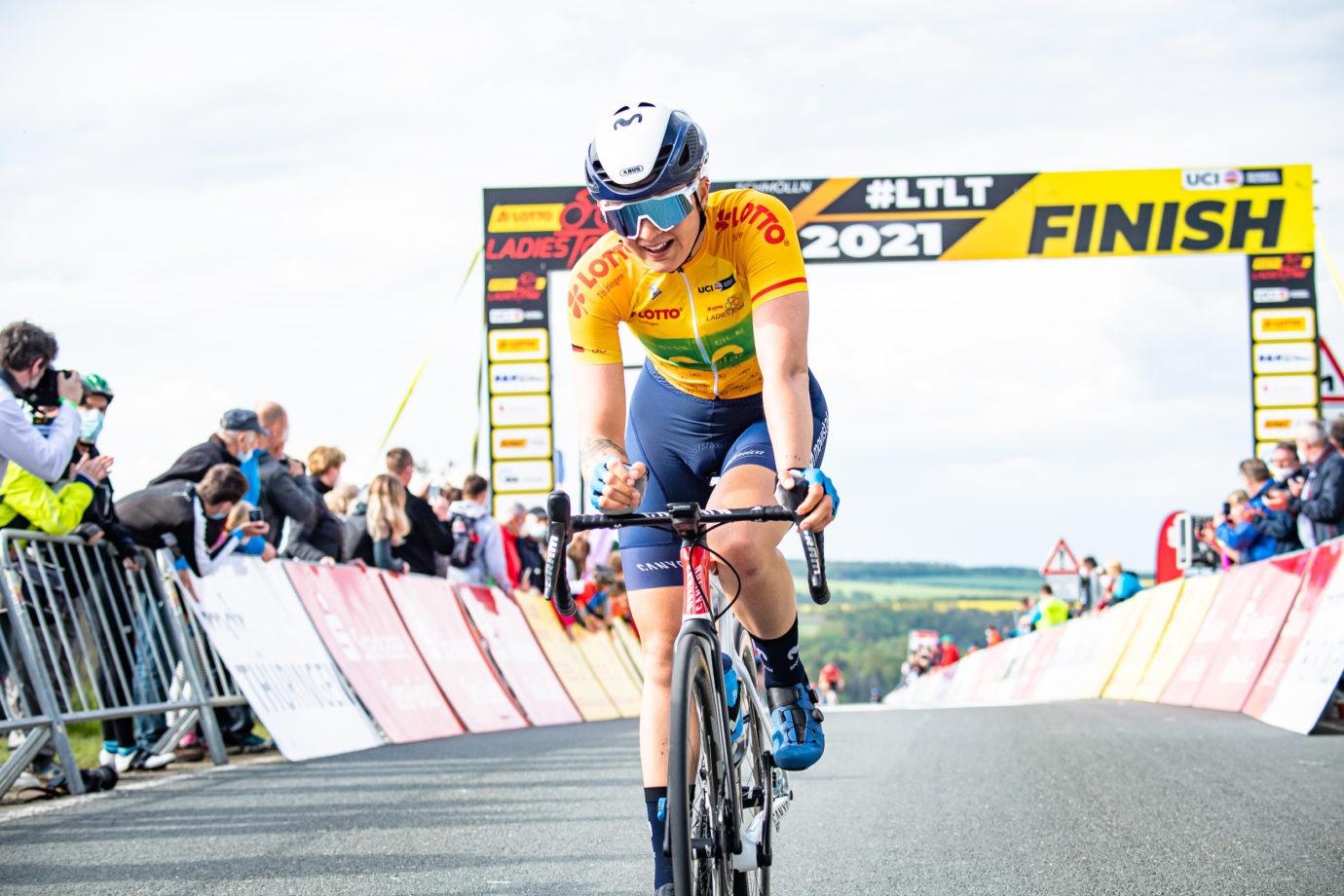 Imagen de la noticia 'Norsgaard digs deep up Hanka-berg, takes 6th as she concedes yellow'