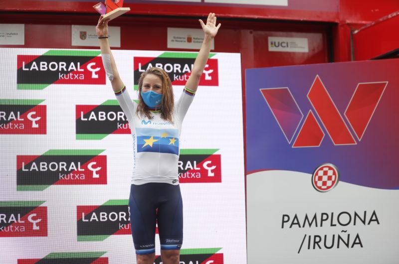News' image'La actitud de Van Vleuten vale otro podio: 3ª en Pamplona'