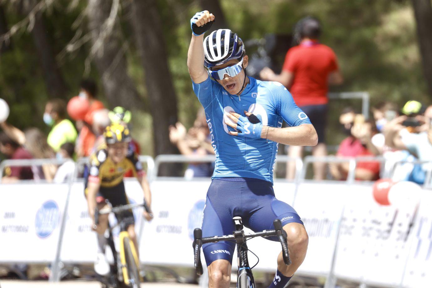 News' image'Miguel Ángel López ya gana con Movistar Team'