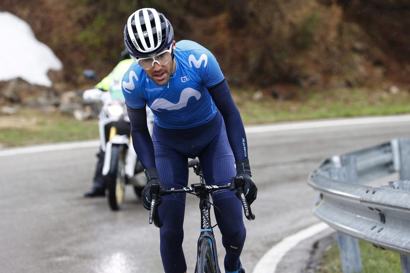News' image'Pedrero ennoblece el Giro de Movistar Team con una gran fuga'