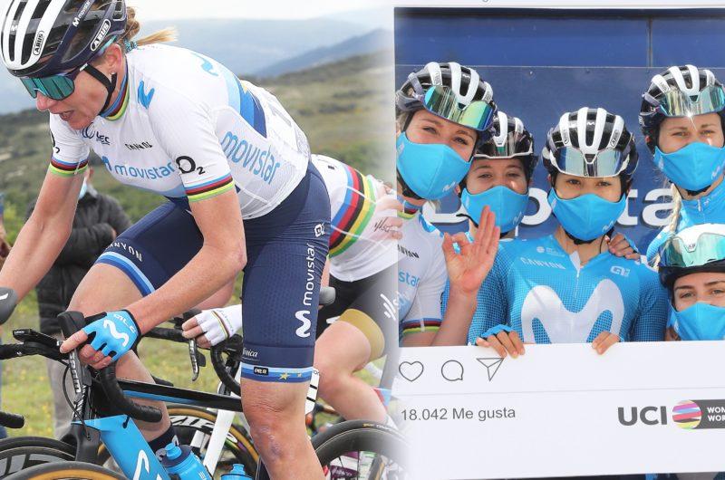 News' image'Inside: Women's Movistar Team – Vuelta a Burgos 2021'