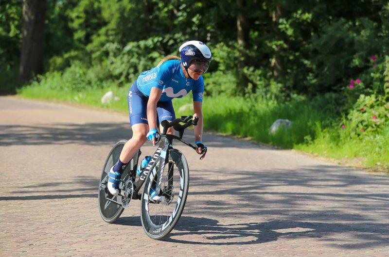 News' image'Annemiek van Vleuten, 4ª en el Nacional neerlandés CRI en Emmen'