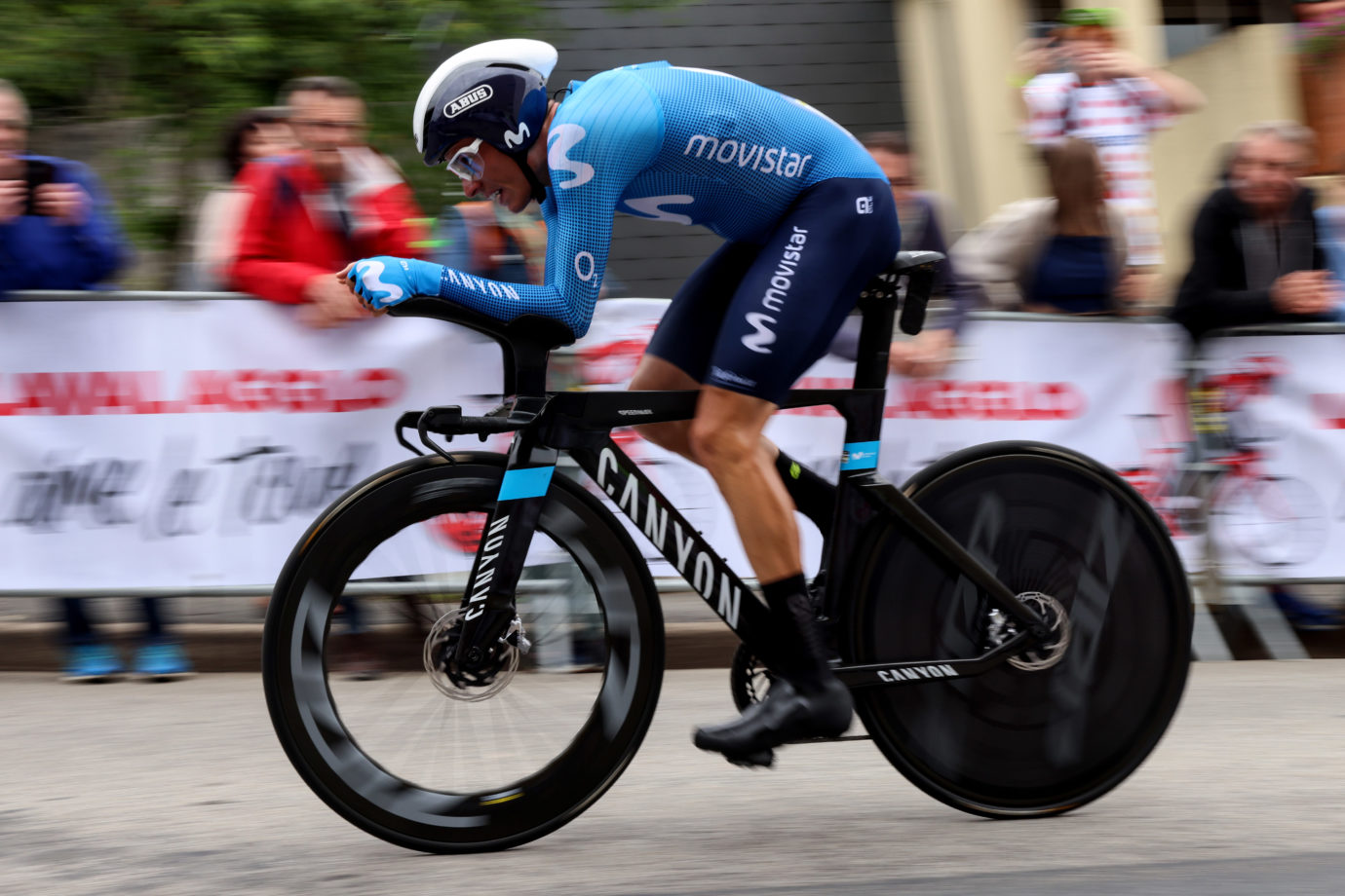 Imagen de la noticia 'Mas on par with expectations at first TDF time trial'