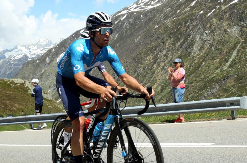 Imagen de la noticia 'Serrano (4th) strong into winning break at Sedrun'