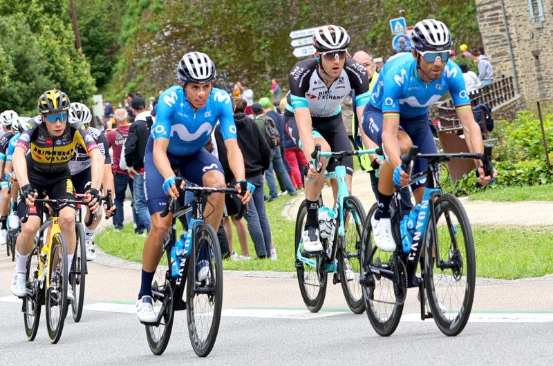 Imagen de la noticia 'No setbacks in Fougères before first ITT; Enric Mas remains 7th overall'