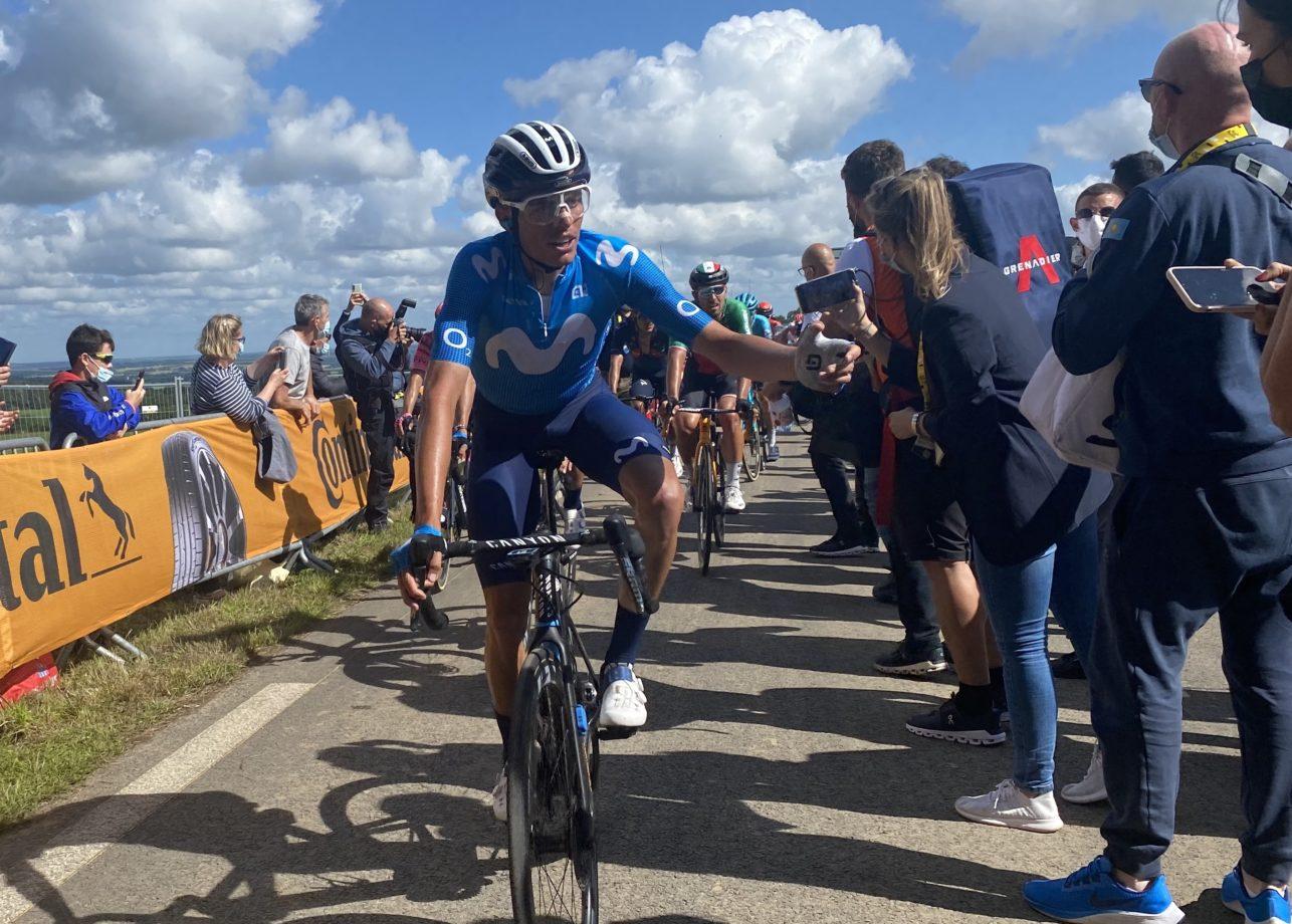 News' image'Enric Mas continúa por la buena senda en Mûr-de-Bretagne'