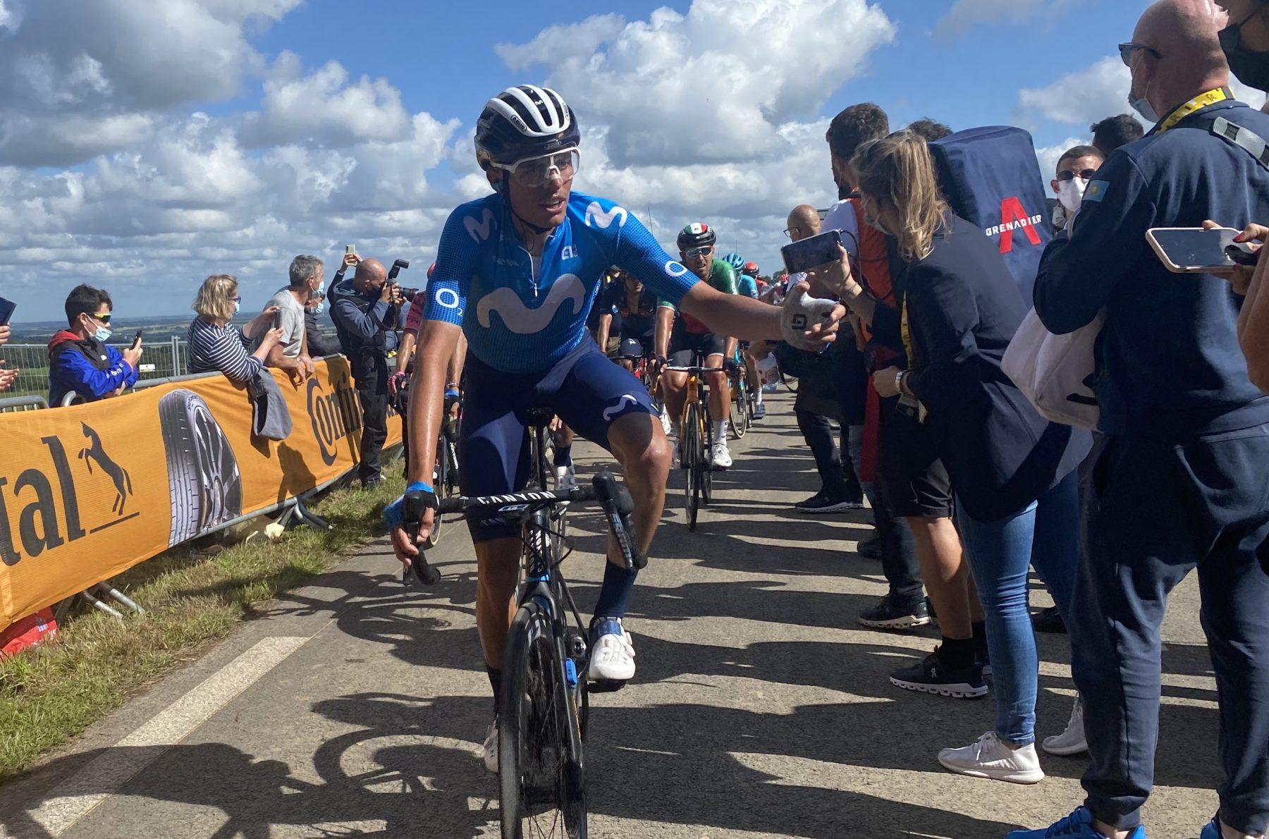 Imagen de la noticia 'Enric Mas remains on right path in Mûr-de-Bretagne'
