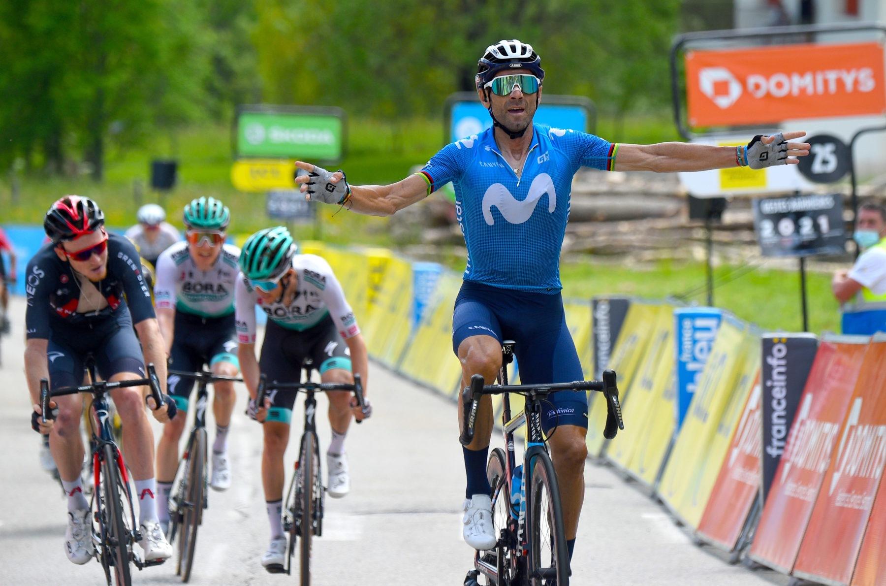 Imagen de la noticia 'Valverde crowns Movistar Team's sensational job atop Le Sappey'