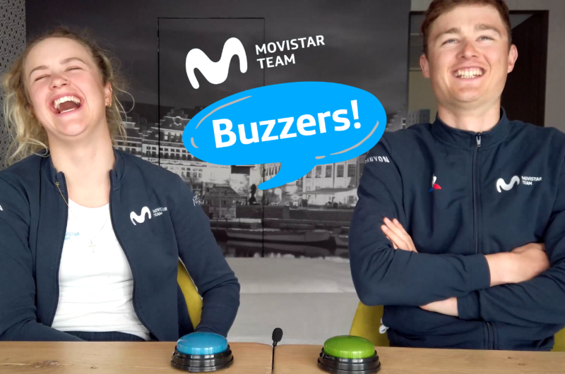 Imagen de la noticia 'Who Is The Most? Challenge: Mathias, Emma Norsgaard bring our Buzzers! back'