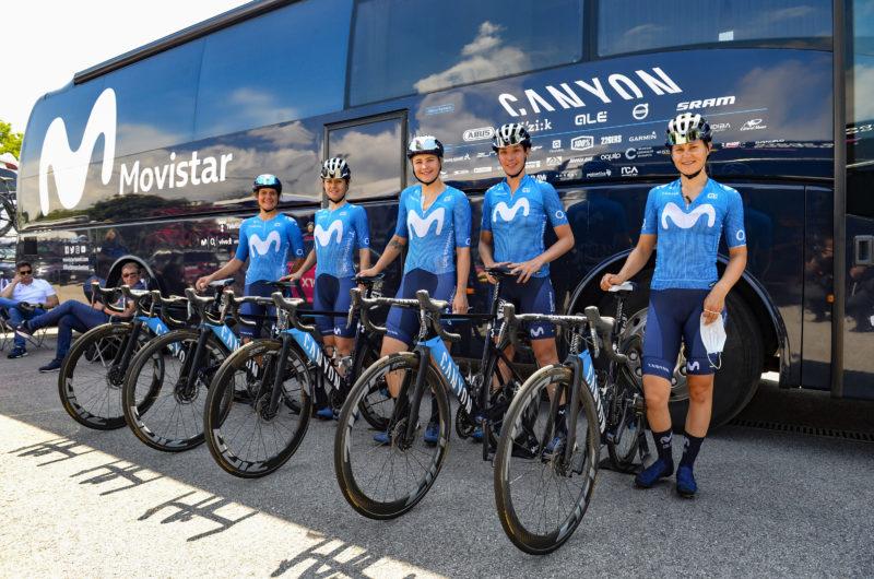 News' image'Emma Norsgaard -5ª en la etapa final-, gran protagonista 'azul' en el Giro Donne 2021'