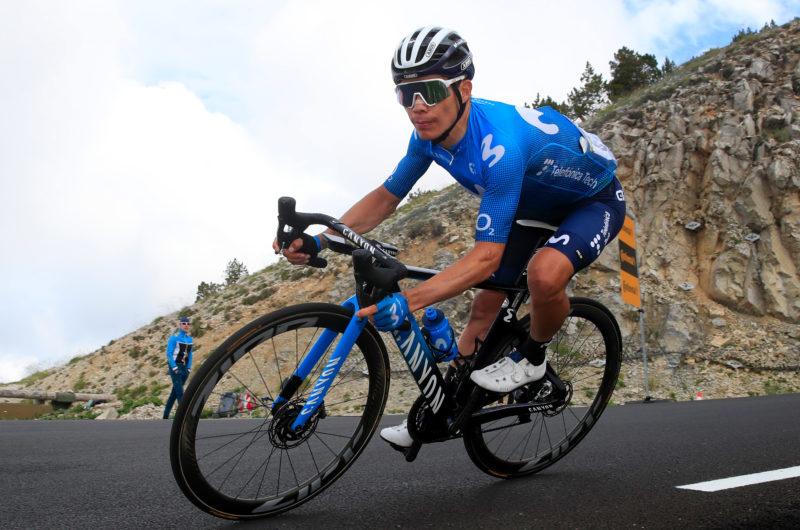 News' image'Miguel Ángel López, dos años más con Movistar Team'