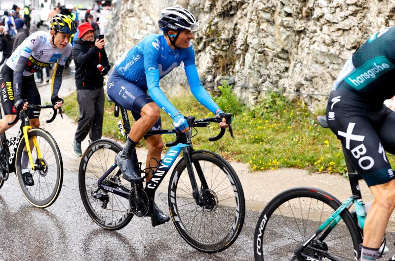 News' image'Enric Mas comienza a mostrarse en el Tour 2021'