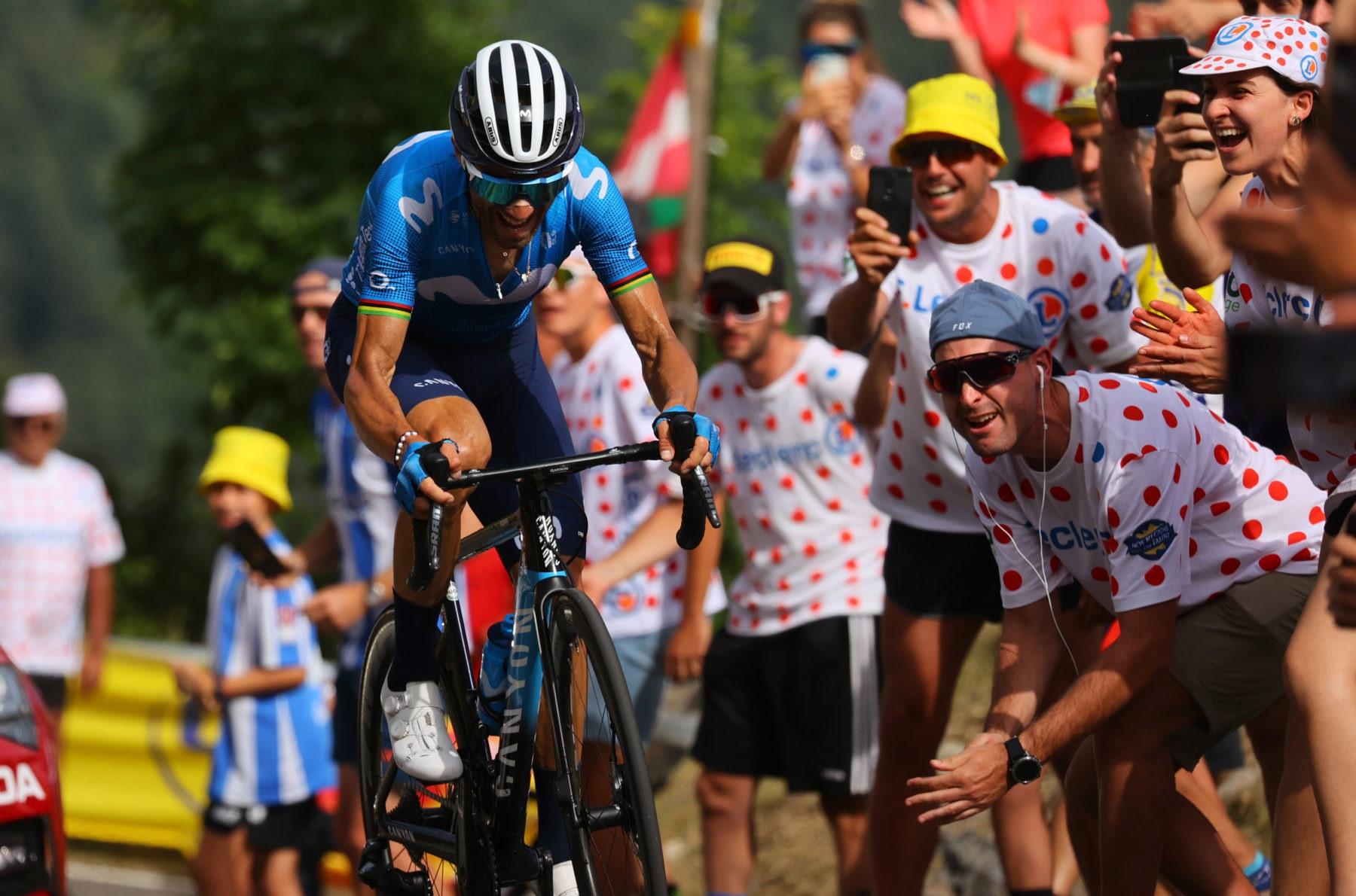 News' image'Valverde (2º), una gran emoción en Andorra'