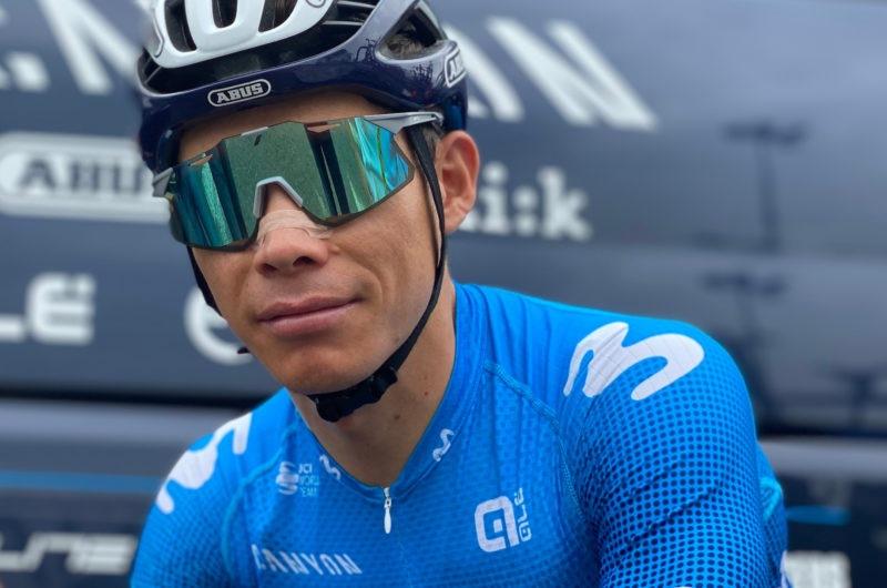 News' image'Miguel Ángel López no toma la salida en la 19ª etapa del Tour'