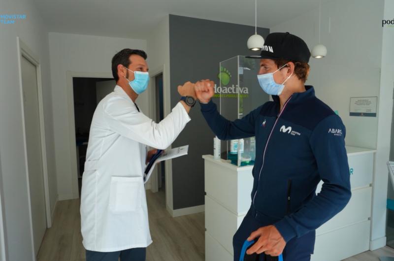 News' image'Podoactiva y Movistar Team continúan pedaleando juntos'
