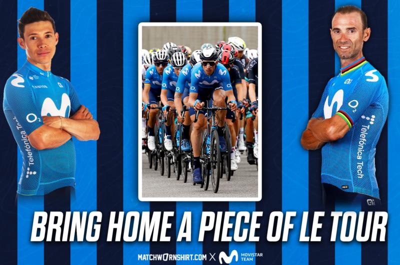 News' image'Subasta solidaria contra la ELA: nuestros maillots de la 1ª etapa del Tour, en juego hasta el lunes 5'