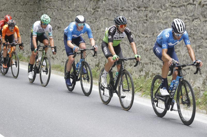 News' image'Carretero (4º), al borde del podio en la Clásica de Ordizia'