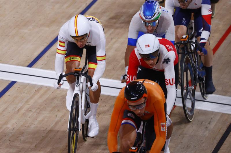 News' image'Torres, 10º en el Omnium olímpico de Tokio antes de la Madison junto a Mora'
