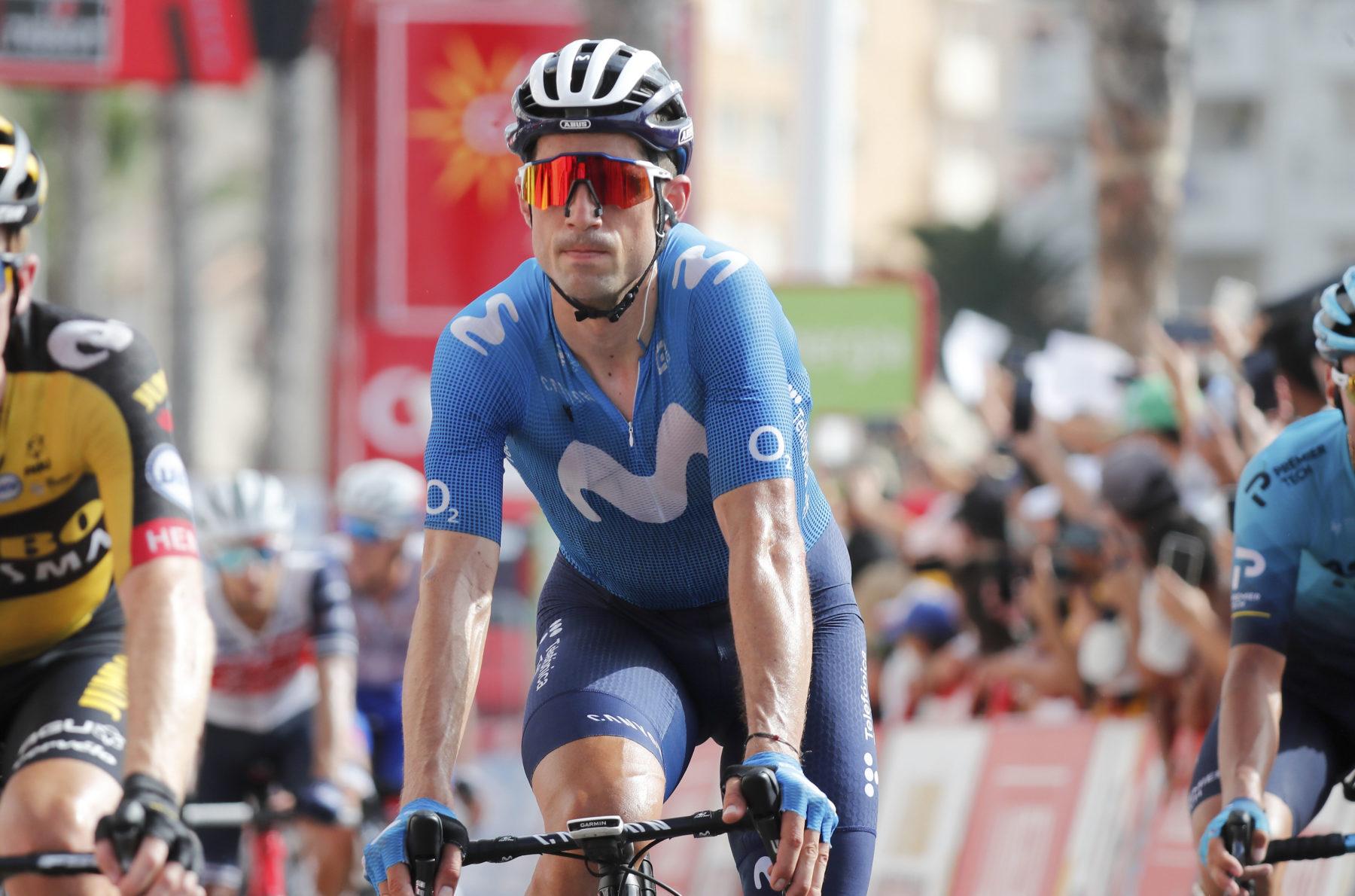 Imagen de la noticia 'Blues safe through stage 8 before Velefique; Valverde undergoes surgery in Murcia'