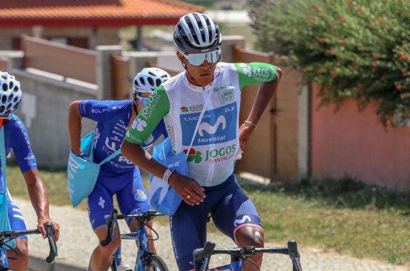 News' image'Abner González, 8º en Portugal tras la Serra do Larouco; Samitier y Carretero, en una nueva fuga'