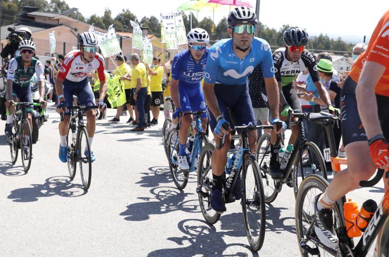 News' image'Mas (5º) y Hollmann (8º), en la brecha camino de Santo Tirso; Abner sigue 6º'