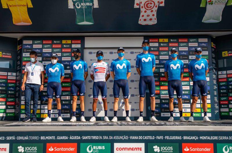 News' image'Movistar Team, presentado en la Volta a Portugal que arranca este miércoles'