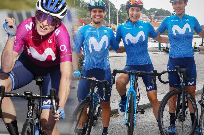 Imagen de la noticia 'A Battle in the North: Movistar Team at the 2021 Ladies Tour of Norway'