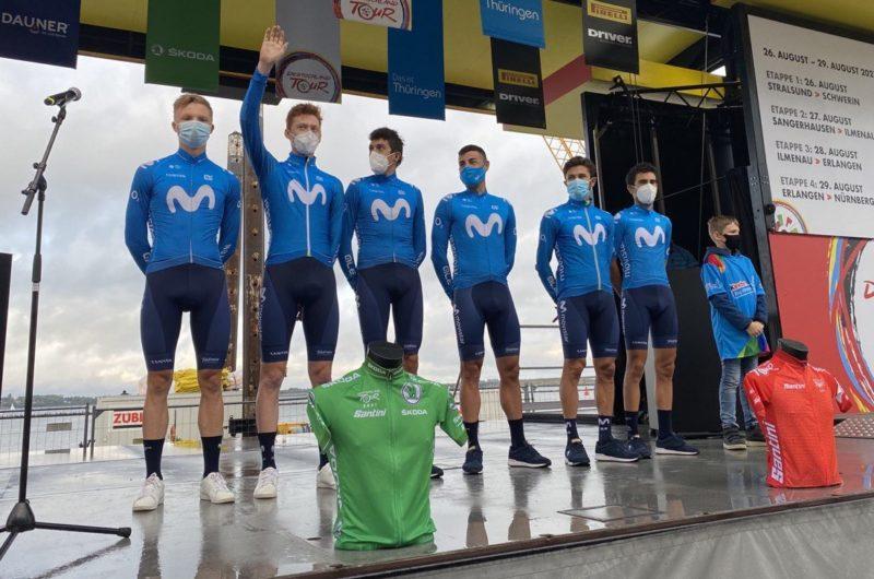 News' image'Movistar Team, con el local Hollmann, regresa a la Vuelta a Alemania (26-29 agosto)'