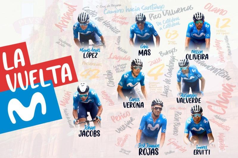 Imagen de la noticia 'Movistar Team announces 2021 La Vuelta lineup'