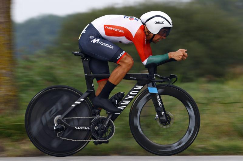News' image'Nelson Oliveira, 13º en la CRI, abre el Mundial de Flandes 2021 para Movistar Team'