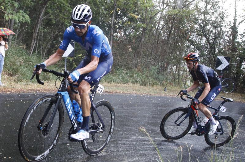 News' image'Villella, 7º en un Memorial Pantani pasado por agua'