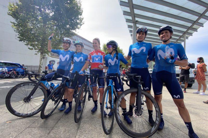 Imagen de la noticia 'Van Vleuten, Movistar Team unstoppable in Galicia'