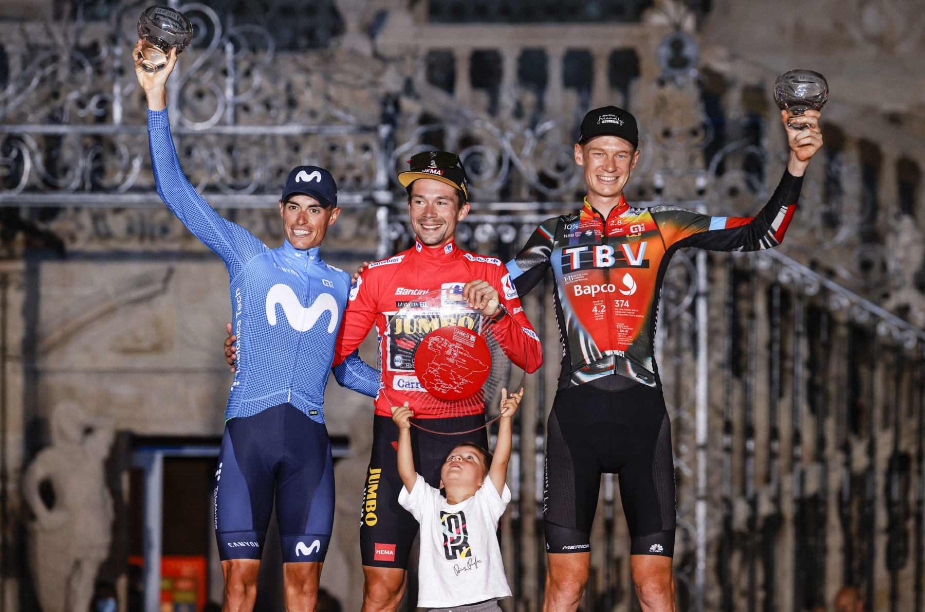 News' image'Enric Mas y Movistar Team, de Vuelta al podio'