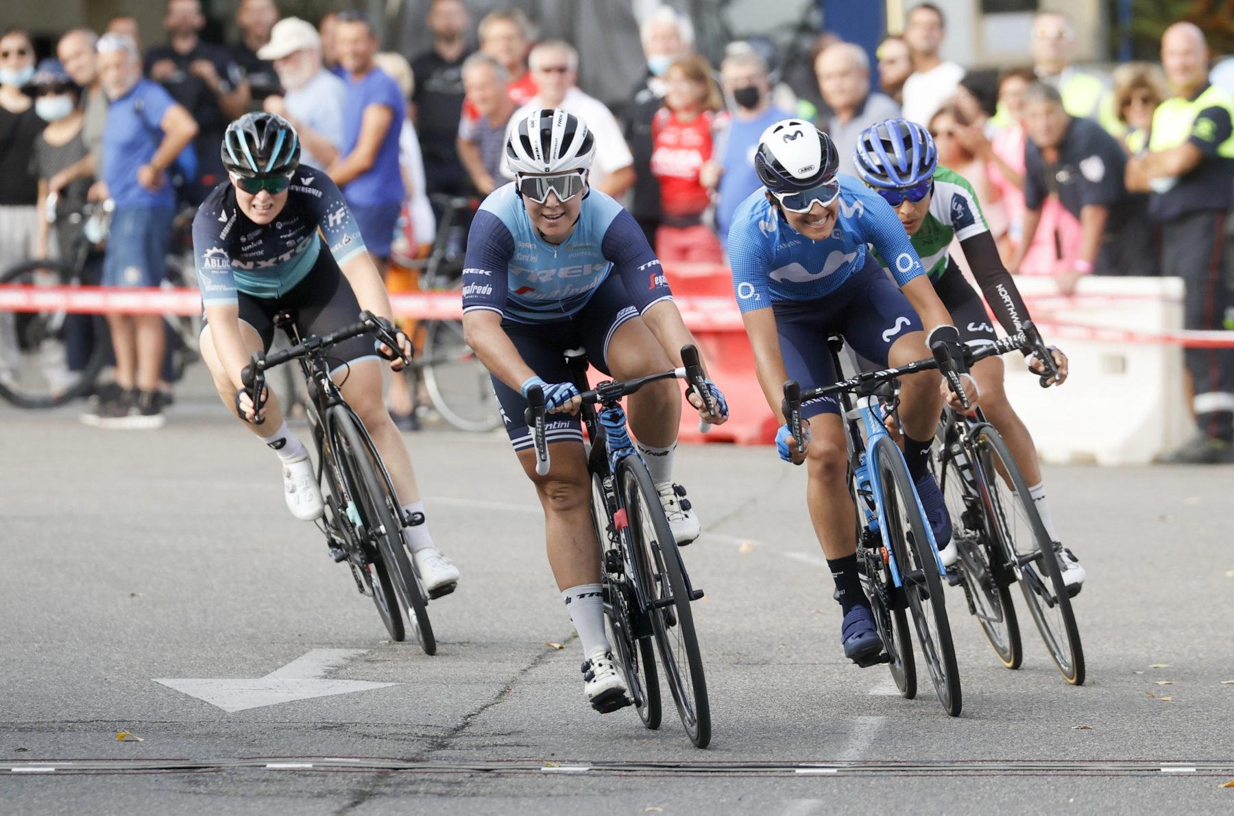Imagen de la noticia 'Guarischi 2nd in Avignon as Leah Thomas retains leader's jersey'