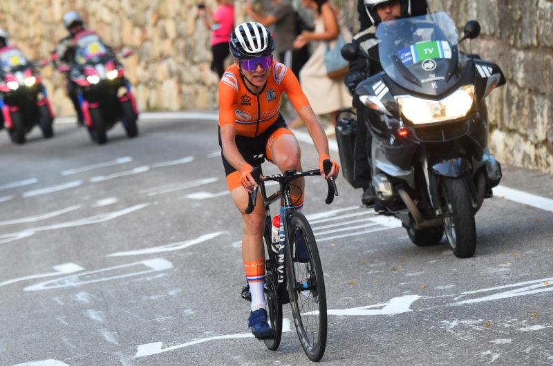 News' image'Van Vleuten -9ª en Trento-, de nuevo a gran nivel en el Europeo'