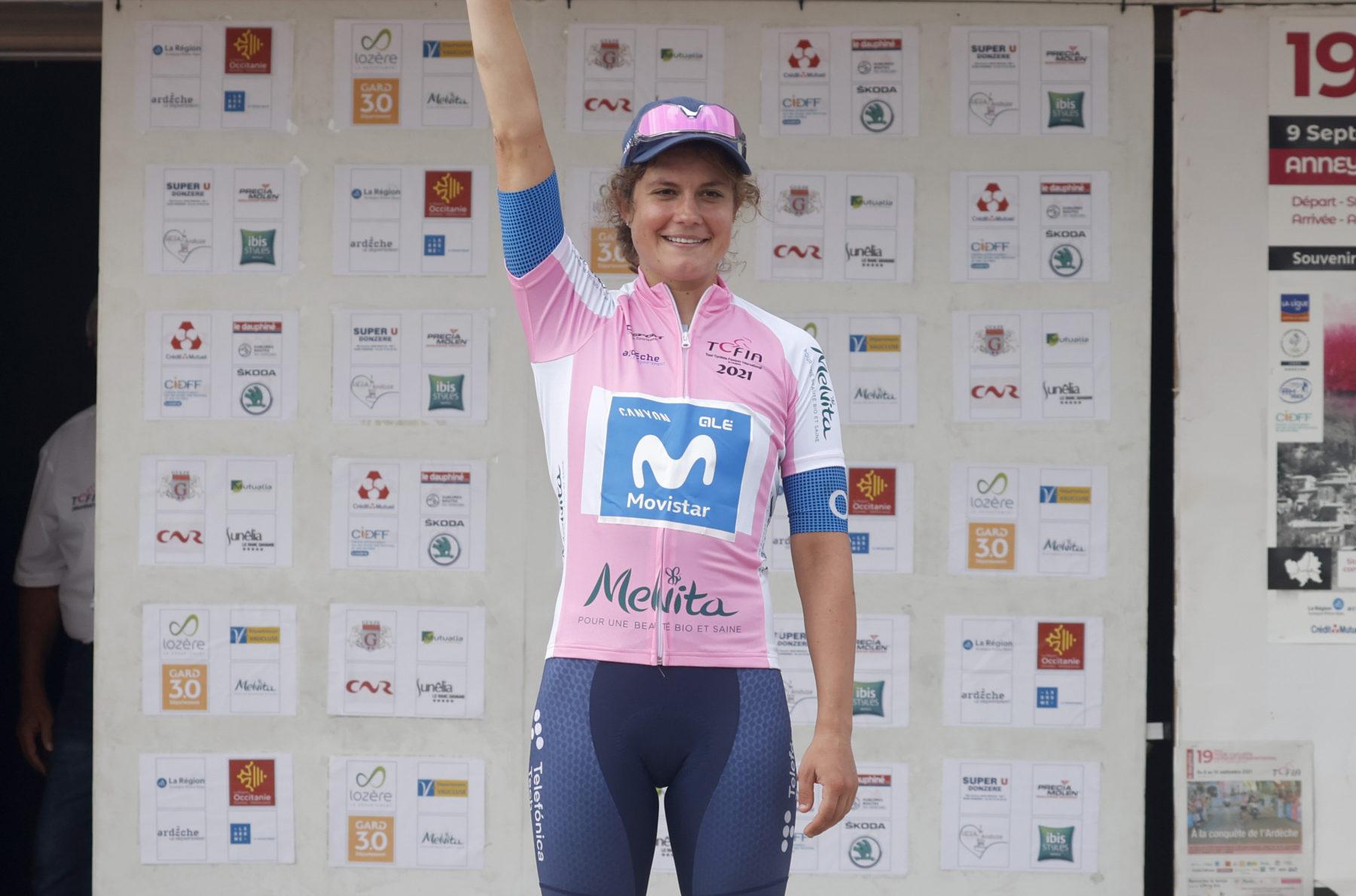 News' image'Leah Thomas, merecido estreno de 'azul' en Ardèche'
