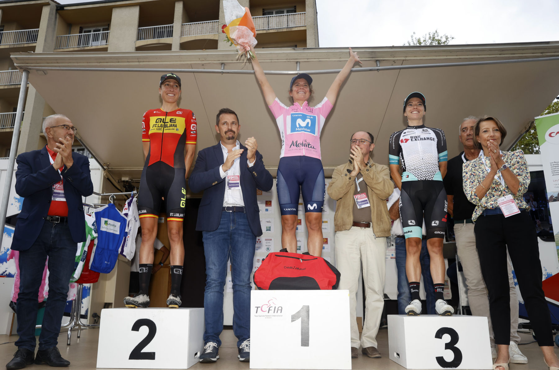News' image'Leah Thomas y Movistar Team, otra semana fantástica en el Tour de l'Ardèche'