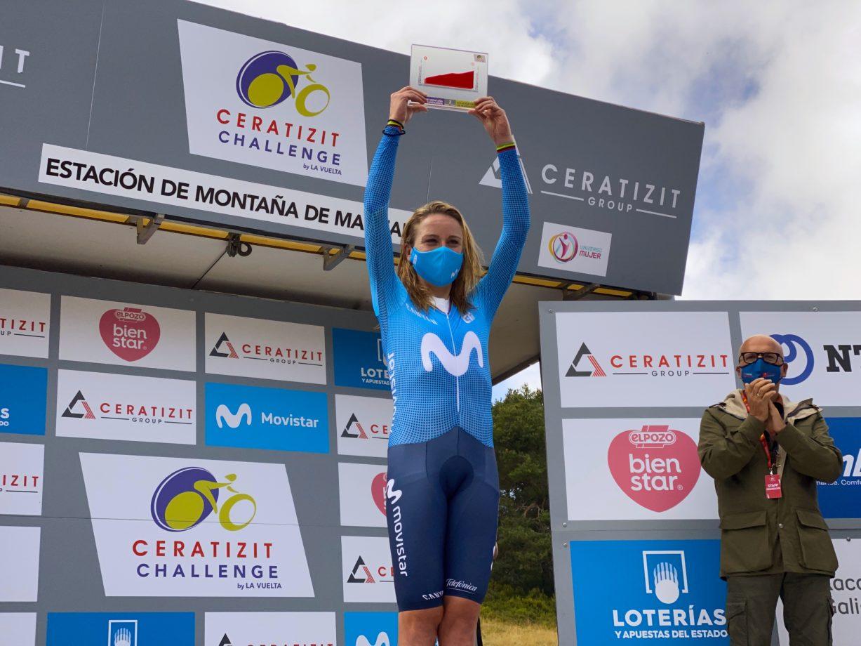 News' image'Annemiek van Vleuten, intratable en la cronoescalada de La Vuelta en Manzaneda'