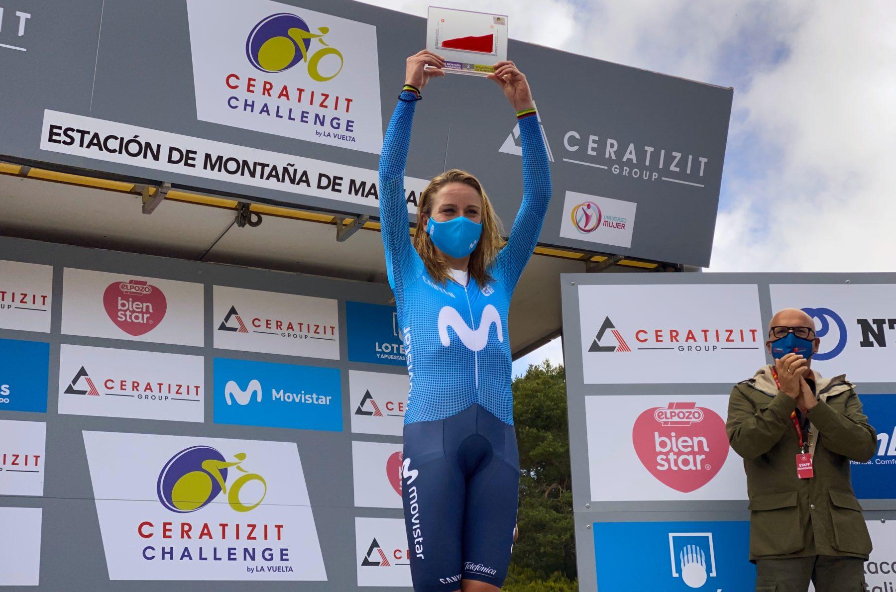 Imagen de la noticia 'Annemiek van Vleuten unstoppable at La Vuelta's Manzaneda TT'