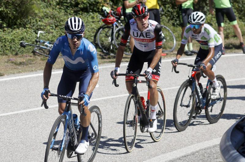 News' image'Miguel Ángel López explica lo acontecido en la 20ª etapa de La Vuelta'