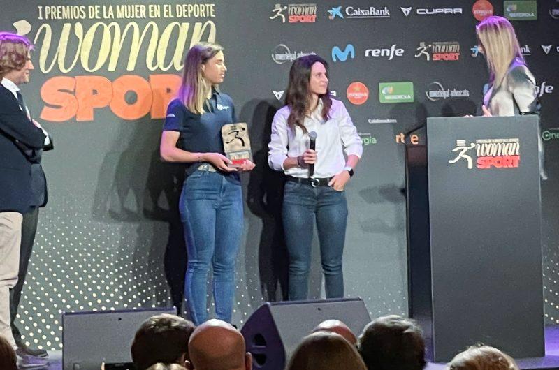 News' image'La labor del Movistar Team femenino, reconocida en los Premios Woman Sport'
