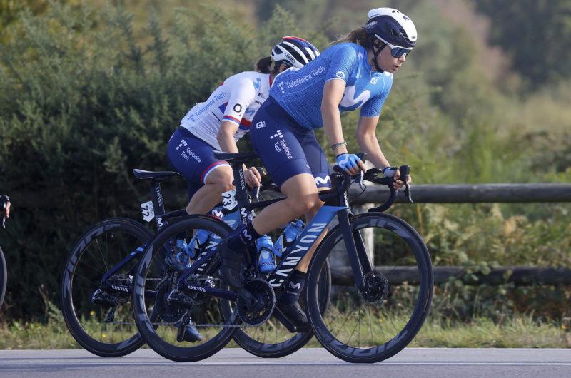 News' image'Sheyla Gutiérrez, al suelo en La Classique Morbihan'