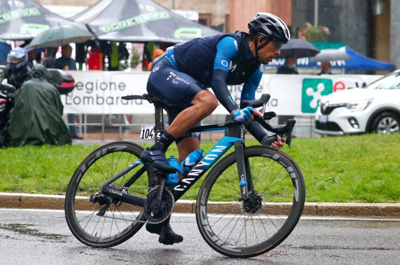 News' image'Oliveira (11º), gran esfuerzo en fuga en la Tre Valli Varesine'
