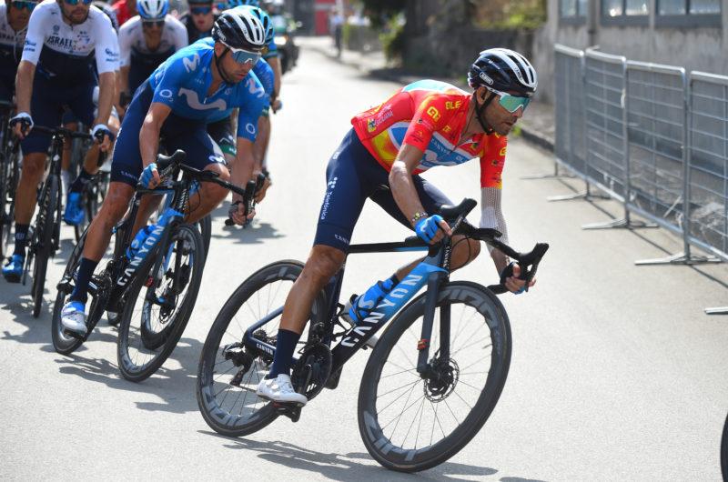Imagen de la noticia 'Valverde ends runner-up overall in Giro di Sicilia'