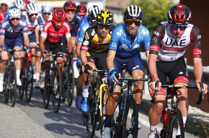 News' image'Valverde (5º) sigue desafiando al calendario en Il Lombardia'
