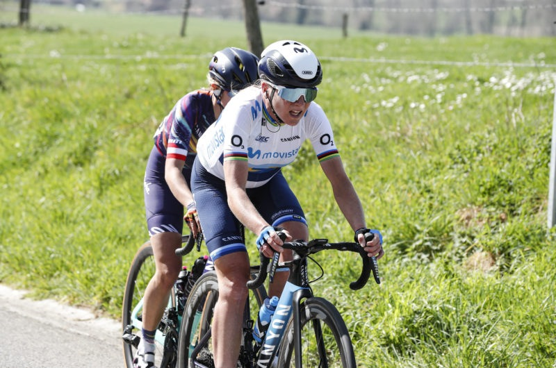 News' image'Annemiek van Vleuten valora el recorrido del Tour de France Femmes avec Zwift 2022'